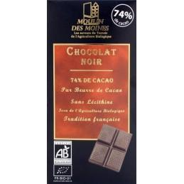 Chocolate negro 74% cacao...