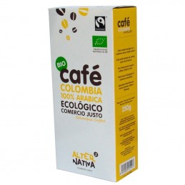 Cafe colombia molido...