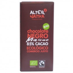 Chocolate 85% cacao mascao...