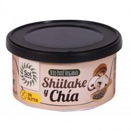 Pate vegano shiitake y chia...