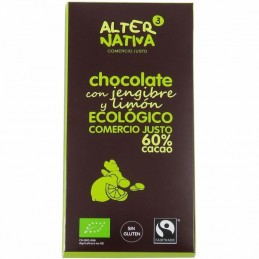 Chocolate 60% jengibre...