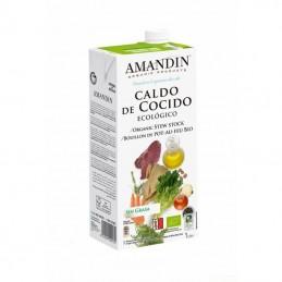 Caldo cocido AMANDIN 1 L BIO