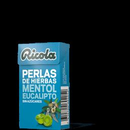 RICOLA PERLAS MENTOL...