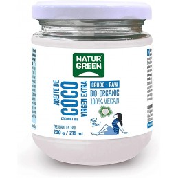 NATURGREEN ACEITE COCO 200 GR